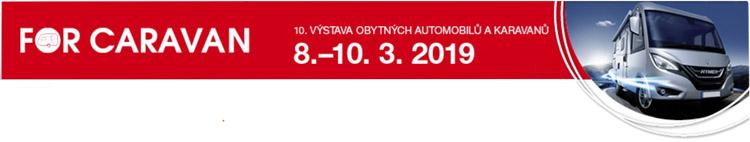 Výstava For Caravan 2019 Praha banner