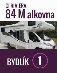 CI Riviera 84 M alkovna - Bydlik-Travel.cz