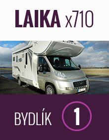 Obytný vůz Laika x710