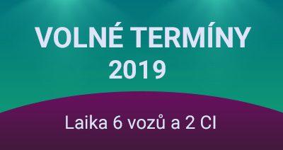 Volné termíny 2019, Laika 6 vozů a 2 vozy CI - Bydlik Travel