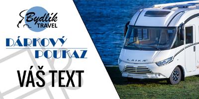 Dárkový poukaz zapůjčení obytného vozu - Bydlik-Travel.cz