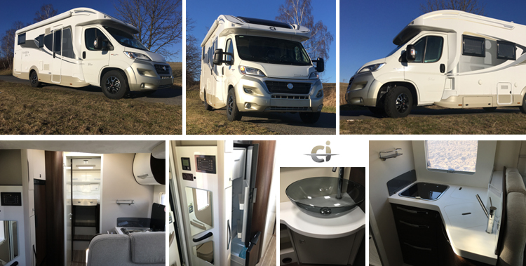 Caravans international CI Riviera 84 XT - půjčovna obytných vozů Bydlik-Travel.cz