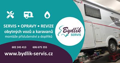 Servis obytných vozů, karavanů a vestaveb