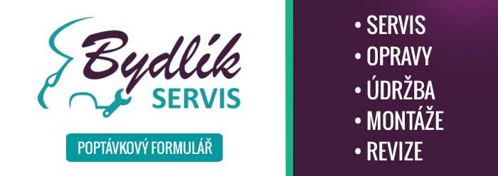 Banner Bydlik servis - poptavkovy formular nabidka sluzeb