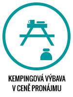 Bydlik-Travel - kempingová výbava v ceně pronájmu